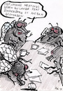 Cartoon: Eintagsfliegen (small) by bob tagged büro,fliegen,meeting,besprechung,chef