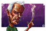 Cartoon: Clint Eastwood Caricature (small) by nolanium tagged clint,eastwood,caricature,nolan,harris,nolanium