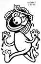 Cartoon: toon 24 (small) by kernunnos tagged muppet,jesus,oh,hes,so,cute,look,at,his,fur,and,crown,of,thorns