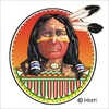 Cartoon: Indian Spirit   First Nation (small) by Hösti tagged indian,spirit,first,nation,feuerzeuge,lighters,hösti