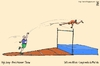 Cartoon: high jump (small) by raim tagged games,olympics