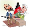 Cartoon: Afghan warlord 2 (small) by Afghancartoon tagged afghanistan