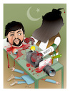 Cartoon: Barbarism has no limits ! (small) by Shahid Atiq tagged afghanistan