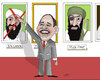 Cartoon: BIN LADEN (small) by Shahid Atiq tagged bin,laden