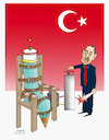 Cartoon: Death Penalty Turkey! (small) by Afghancartoon tagged trukey