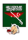 Cartoon: JAMAL KHASHOGGI ! (small) by Shahid Atiq tagged afghanistan,balkh,helmand,kabul,london,nangarhar,attack