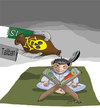 Cartoon: talian (small) by Afghancartoon tagged 0152
