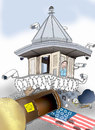 Cartoon: US Prisoners (small) by Afghancartoon tagged 0219