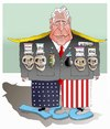 Cartoon: War Criminal ! (small) by Afghancartoon tagged trump,afghanistan,safi,shahid,bahar,ieba,rayian,castro,cuba