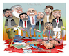Cartoon: Warlords!!! (small) by Afghancartoon tagged afghanistan,balkh,helmand,kabul,london,nangarhar,and,ghor,attack