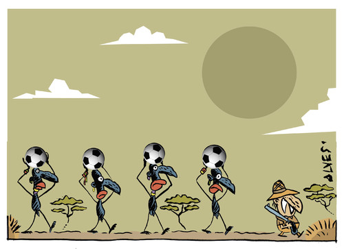 Cartoon: World Cup (medium) by alves tagged world,cup