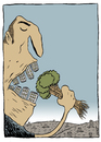 Cartoon: Fome (small) by alves tagged nature