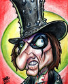 Cartoon: Alice Cooper (small) by Curbis_humor tagged rock,cooper,caricature