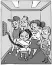 Cartoon: Elevator (small) by beto cartuns tagged elevator