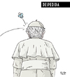 Cartoon: farewell (small) by beto cartuns tagged vaticano,papa,bento,xvi