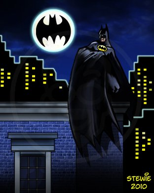 Cartoon: Batman fan art (medium) by stewie tagged art,fan,batman