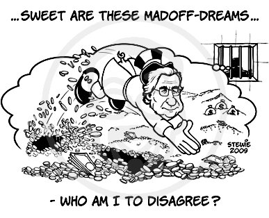 Cartoon: Sweet Madoff dreams (medium) by stewie tagged dreams,madoff,sweet