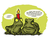 Cartoon: Advent (small) by stewie tagged toad,light,candle,christmas,weihnachten,kröten,kerze,licht