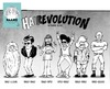 Cartoon: HAIRevolution (small) by stewie tagged hair,revolution