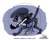 Cartoon: Tango Alienato (small) by stewie tagged tango