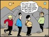Cartoon: Ya have to go (small) by Tim Akin Ink tagged star,trek,captain,kirk,sulu,george,takai,spock,leonard,nemoy,william,shatner