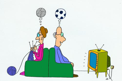 Cartoon: Football 21 (medium) by Alexei Talimonov tagged football,soccer,em,2008,european,championship