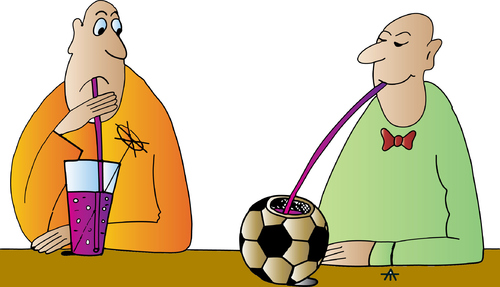 Cartoon: Football (medium) by Alexei Talimonov tagged football