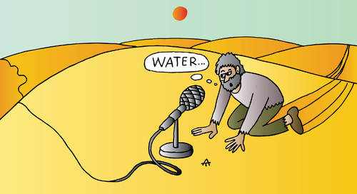 Cartoon: Water (medium) by Alexei Talimonov tagged water