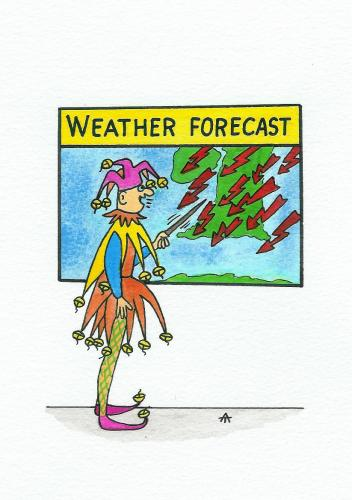 Cartoon: Weather Forecast (medium) by Alexei Talimonov tagged weather,forecast