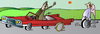 Cartoon: Angel (small) by Alexei Talimonov tagged angel,car