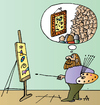 Cartoon: Artist (small) by Alexei Talimonov tagged artist