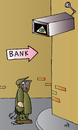 Cartoon: Bank (small) by Alexei Talimonov tagged bank