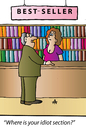 Cartoon: Bestseller (small) by Alexei Talimonov tagged books,bestseller