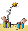 Cartoon: Cat and mouse (small) by Alexei Talimonov tagged cat,mouse