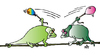 Cartoon: Chameleons (small) by Alexei Talimonov tagged chameleons
