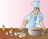 Cartoon: Cook (small) by Alexei Talimonov tagged cook