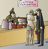 Cartoon: Customs (small) by Alexei Talimonov tagged customs