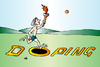 Cartoon: Doping (small) by Alexei Talimonov tagged sports,doping