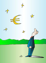 Cartoon: Euro (small) by Alexei Talimonov tagged euro