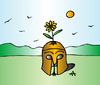 Cartoon: Flower (small) by Alexei Talimonov tagged flower