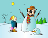 Cartoon: Football (small) by Alexei Talimonov tagged football,winter