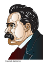 Cartoon: Friedrich Nietzsche (small) by Alexei Talimonov tagged nietzsche