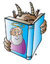 Cartoon: God (small) by Alexei Talimonov tagged god,devil