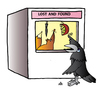 Cartoon: Lost and found (small) by Alexei Talimonov tagged lost found
