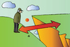 Cartoon: Precipice (small) by Alexei Talimonov tagged precipice,directions