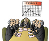 Cartoon: Profit (small) by Alexei Talimonov tagged profit