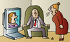 Cartoon: Quarrel (small) by Alexei Talimonov tagged quarrel