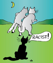 Cartoon: Racist (small) by Alexei Talimonov tagged racist