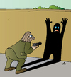 Cartoon: Shadow (small) by Alexei Talimonov tagged shadow