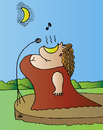 Cartoon: Singer (small) by Alexei Talimonov tagged singer music